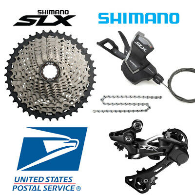 NEW Shimano Deore XT M8000 Groupset 11 Speed 11-46T Rear Shifter RD-GS 4pcs OEM