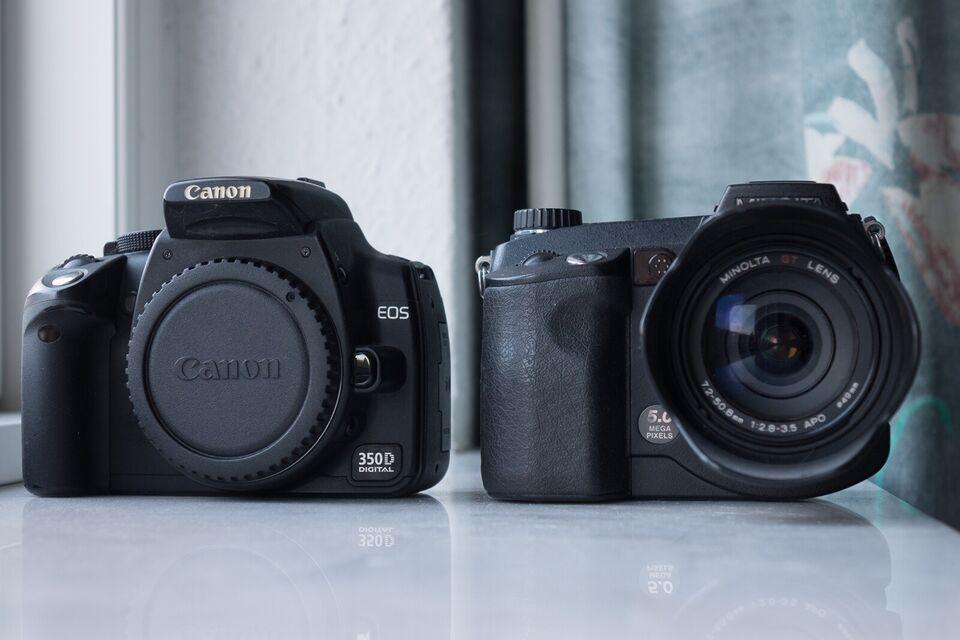 Canon, 350D, 8 megapixels