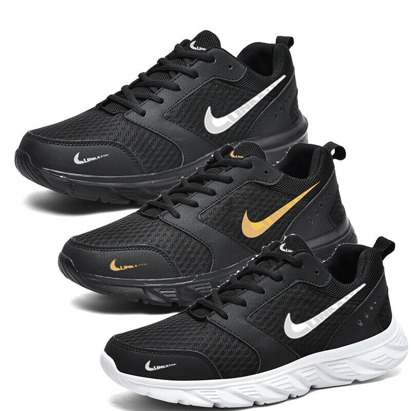 Mens Trainers Walking Fitness Tennis Sneakers Workout Casual Sport Jogging Shoes
