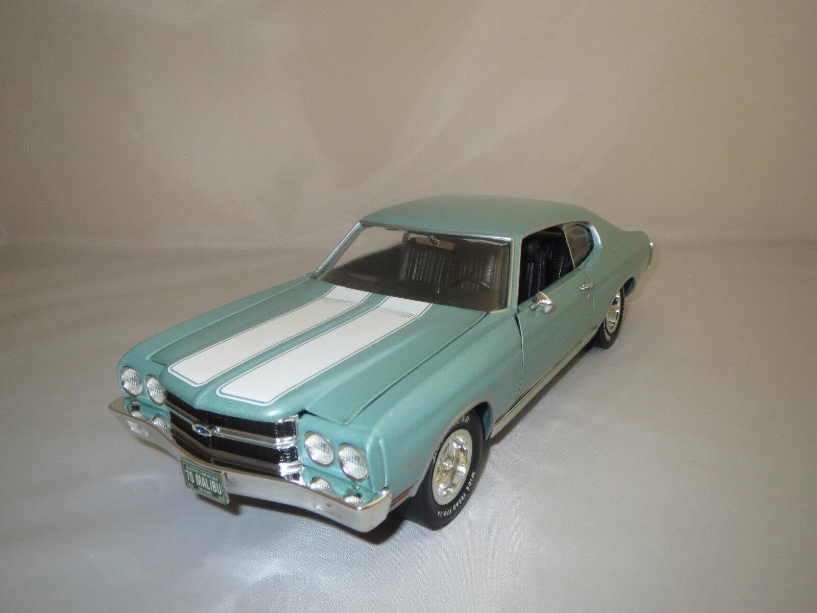 aquí tiene la última Ertl American muscle Chevrolet Chevelle Malibu (hellmint-met.) 1 18 sin sin sin VP.   gran descuento
