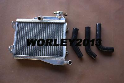 black High-per Aluminum Radiator for YAMAHA RD250 RD 250 RD350 LC 4L0 4L1 hose