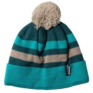 c5c823e0c841b Simms Fly Fishing Fleece Lined Pom Tassel Beanie Cap   Hat - Choose ...