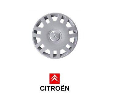 """Nuevo 14/"""" adornos de rueda C3 Tapacubos cubre para caber Citroen C2 cantidad 4"""
