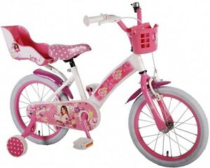 16 zoll disney violetta kinder m dchen kinderfahrrad. Black Bedroom Furniture Sets. Home Design Ideas
