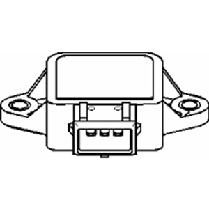 Sensor Drosselklappenstellung Topran 205 631