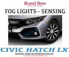 Genuine OEM Honda Civic 2Dr 4Dr Fog Lights Set 2016-2017 LX Auto Light Foglight