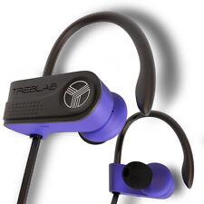TREBLAB XR700 Blue PRO Wireless Running Earbuds, Bluetooth 5, Waterproof