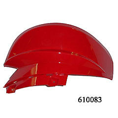 ETON Viper ATV red right hand front fender panel Viper 50 70 90 pre 2009 style