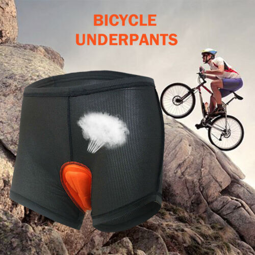 Men 3D Gel Padded Bicycle Cycling Bike Pants Underwear Short Riding Pants Shorts
