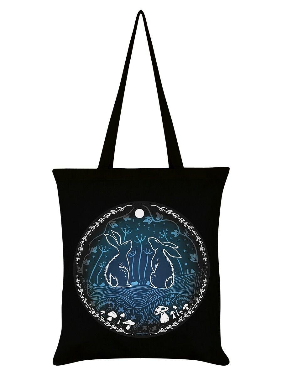 Tote Bag Moonlit Tryst Black 32x44cm