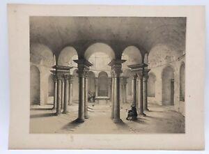 Santa-Costanza-Church-Rome-1843-G-Moore-Lithograph-Architecture-of-Italy