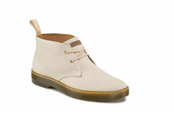 Dr. Martens Mayport Men Fashion Boots  Sand Overdyed Twill Canvas 16516270   L