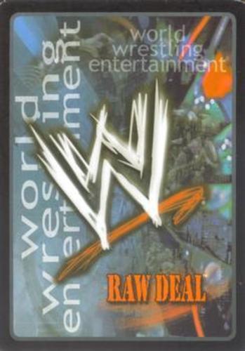 SS2 Moderately Played for Kane Raw Deal Wrestling WWF WWE: Kane/'s Chokeslam