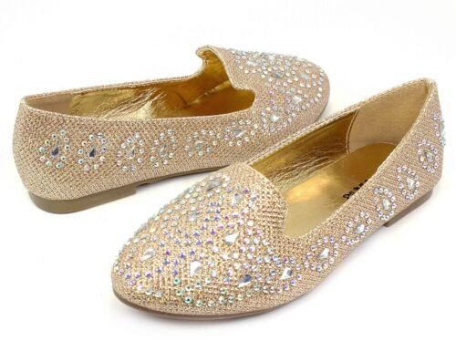 lonita-74k New Kids Youth Blink Cute Flats Party Wedding Church Girl/'s Shoes
