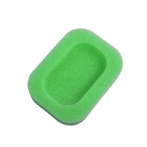 Water Absorption Sponge Soap Dish Leachate Tray Draining Holder Bathroom Kitchen