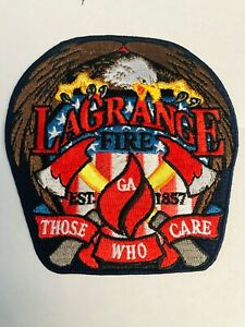 LAGRANGE GEORGIA FIRE DEPT. BRAND NEW PATCH FOR AGENCY | eBay