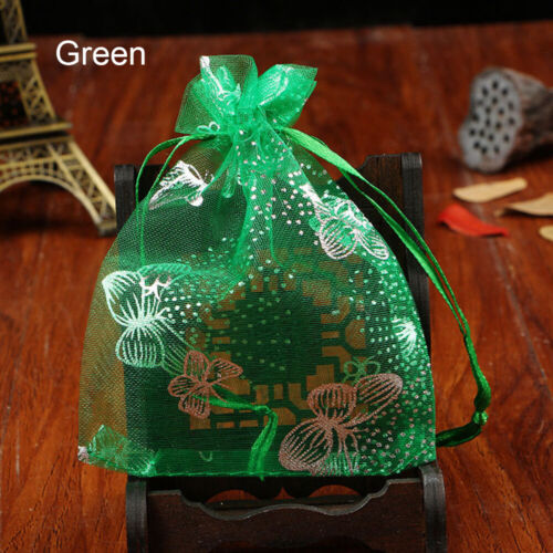 Drawstring Organza Bags Wedding Gift Case Candy Storage Jewelry Packaging Bag