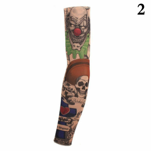 Cycling Bike Bicycle Tattoo Arm Warmers Cuff Sleeve Suntection UV Cover HOT R8T8