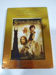 El Señor de los Anillos Las Dos Torres - 2 x DVD + Extras Español Ingles