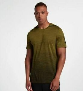 NEW-Nike-Mens-DRY-Dri-Fit-Premium-Shirt-034-Olive-034-928015-395-Size-S-90