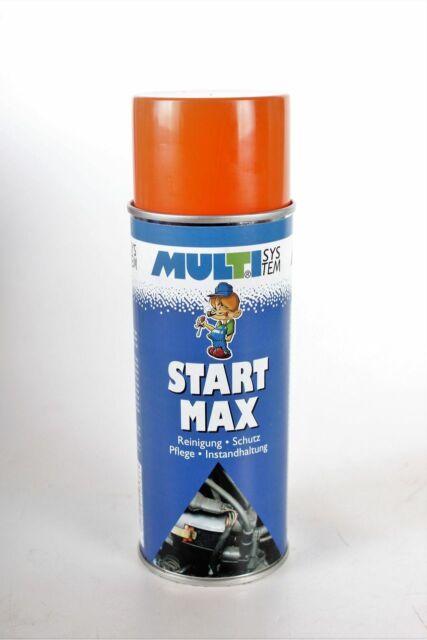 2x MULTISYSTEM Iniciar Max Spray 400ml Ayuda Starter Motor de arranque