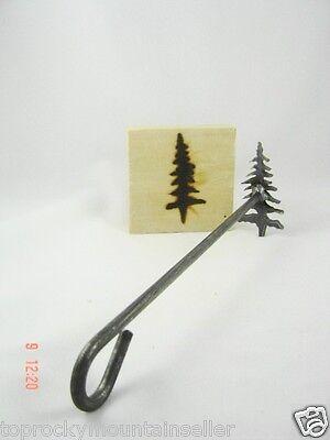 Pine Tree Branding Iron Craft Steak Wood Branding Irons