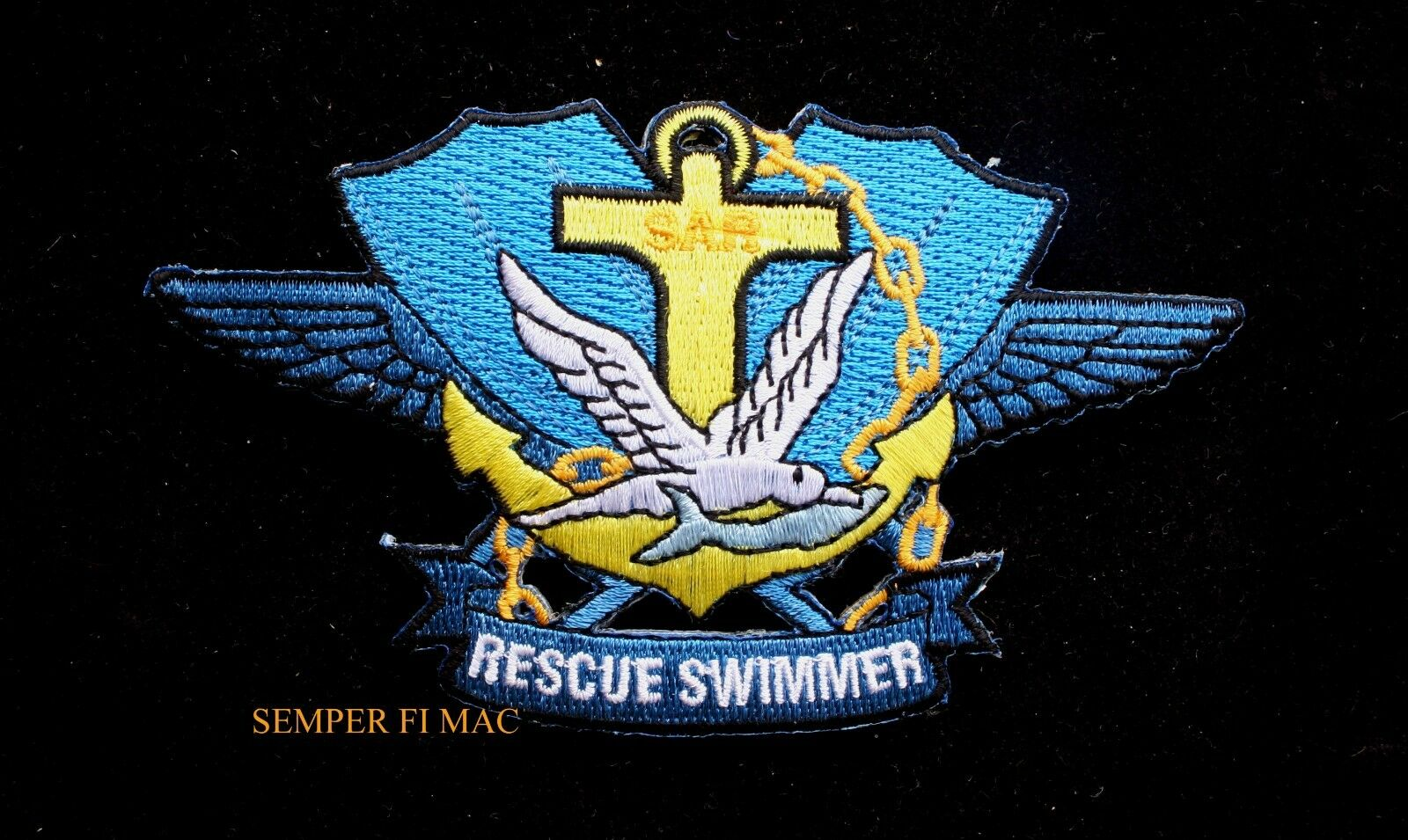 huge selection of d7146 05593 Details about US NAVY SEARCH   RESCUE SWIMMER HAT PATCH SO OTHERS MAY LIVE  PIN UP SAR DOLPHIN