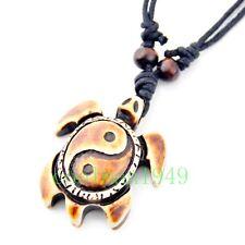 Cool man boy Tribe Style Taoist tai chi sea turtle Pendant Necklace RH264