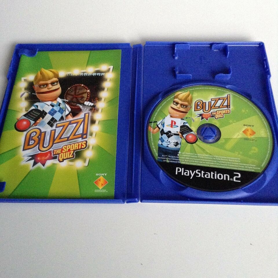 Buzz!: The Sports Quiz, PS2, puzzle