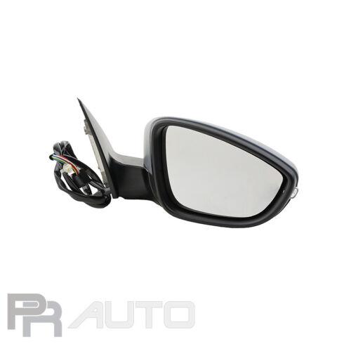 Klappbar lackierb 08//10-12//14 Außenspiegel Spiegel rechts elektr VW PASSAT 36