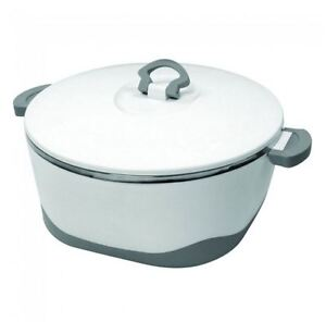 NEW PYROLUX PYROTHERM HOT POT FOOD WARMER W/AIR TIGHT SEAL LID 6.5L COOKWARE