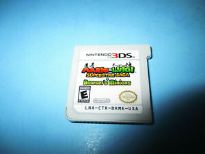 Details About Mario Luigi Superstar Saga Bowser S Minions Nintendo 3ds Xl 2ds Game