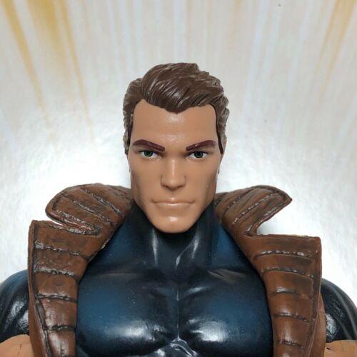 Marvel Legends Custom #7 Head seules pièces fonte non peinte!