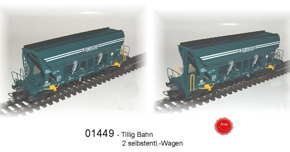 Tillig Bahn 01449 - Selbstentladewg Set 2-piece Ep.6