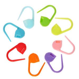 UN3F-100pcs-Locking-Stitch-Marker-Lock-Pins-Plastic-Ring-Markers-for-Knitting