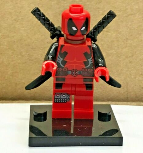 TYPE MINI FIGURINE LEGO DEADPOOL MARVEL X MEN AVENGERS TBE SPIDERMAN