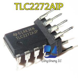 2Pcs Rail To Rail Dual Lincmos SOIC-8 Op Amp TLC2272CDRG4 New Ic fi