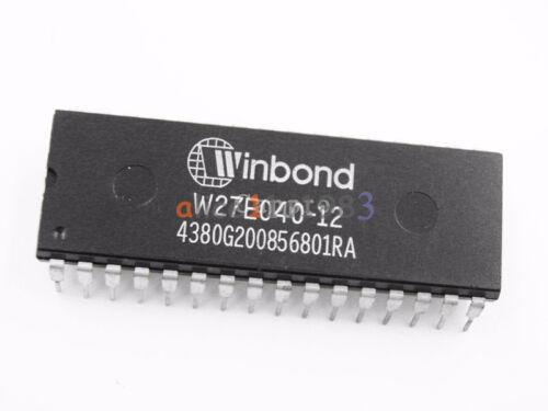 5PCS IC W27E040 W27E040-12 Eeprom Ic 27E040 DIP-32