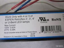 FLUORESCENT LAMP BALLAST TCP2P321SUNVL 120-277V INSTANT START NOS 4 LOT OF