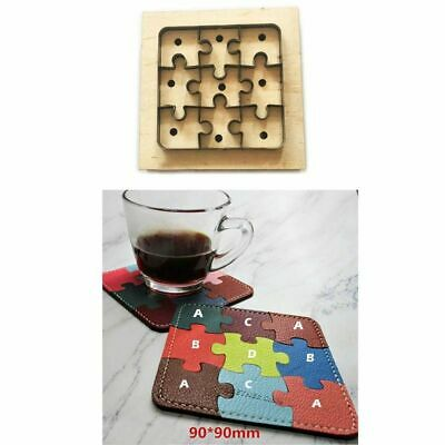 1Set Japan Steel Blade Wooden Die Jigsaw Puzzle Leather ...