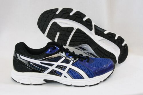 NEW Boys Kids Youth ASICS Gel Contend 2 C405N 5901 Blue Black Sneakers Shoes