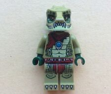LEGO Minifigure CHIMA Figurine CRAWLEY Loc013 70001 70005 Minifig Crocodile