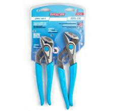 Channellock Gs 1x Speedgrip Tongue And Groove Pliers Set Carbon Steel