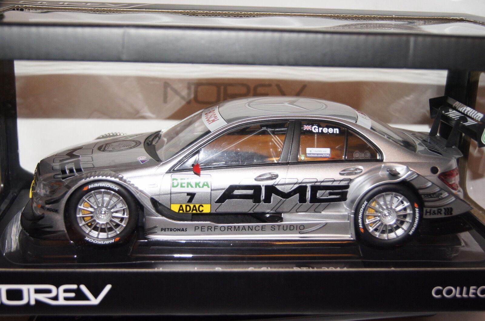 Mercedes clase c c c DTM 2011  7 j. verde 1 18 norev nuevo & OVP 183583 ef0d3b