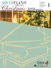Adult Piano Adventures Christmas Book 1 with Audio NEW 000420248