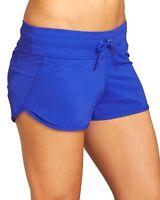 Athleta Kata Swim Short, Caspian Blue, Extra Large (xl), Beach Run Surf $44