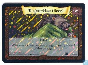 Harry Potter Diagon Alley Dragon-Hide Gloves foil #6