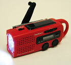 topAlert MD-019 Emergency Solar Hand Crank Weather Alert Digital LCD Radio w/EWS