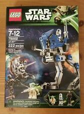 NEW SEALED LEGO Star Wars AT-RT 75002. Yoda + 501st Legion Clone Trooper + Droid