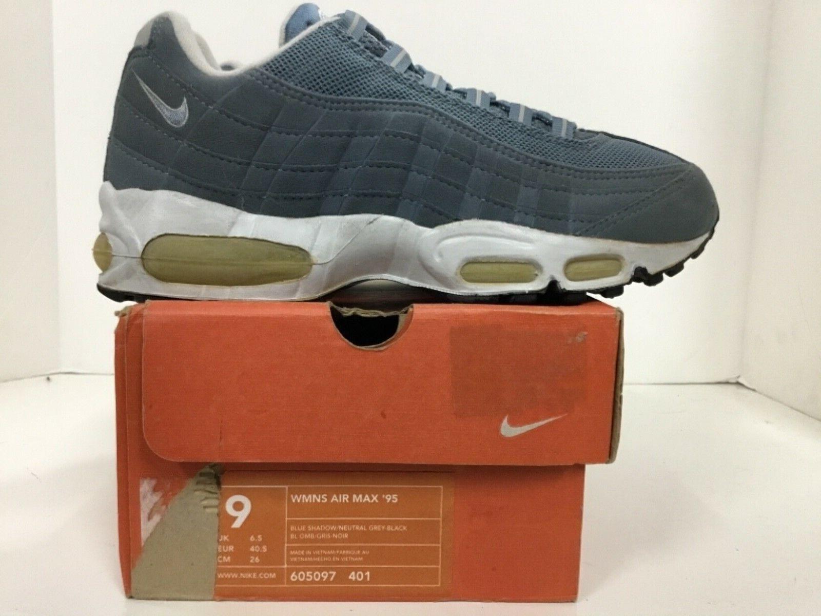 Nike Nike Nike Air Max 95 kvinnor hell 65533;65533; s Style 35; 605097 401 Storlek 9  snabb frakt och bästa service